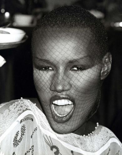 Grace Jones Buzz Cut