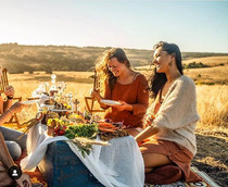 Glamping afternoon with friends_Catering