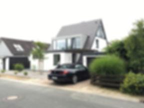 Architekt Oliver Thiedmann Umbau Nurdachhaus Einfamilienhaus
