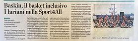 Sport4All la provincia baskin