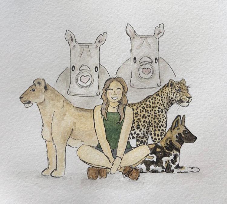 Painting Rachael Leeman
