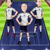 Football Lineup Caricature
