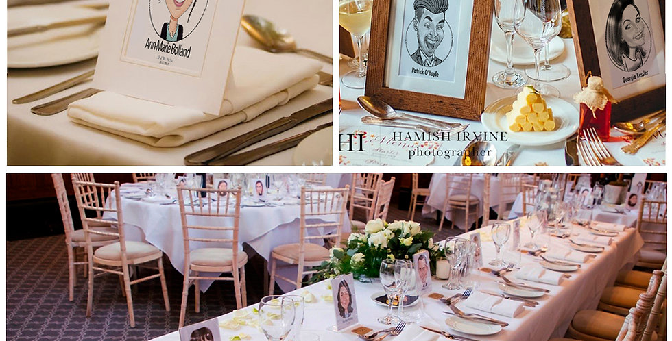 Place Card Frames & Stands