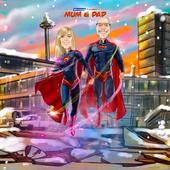 Marvel/ DC Superhero Caricature