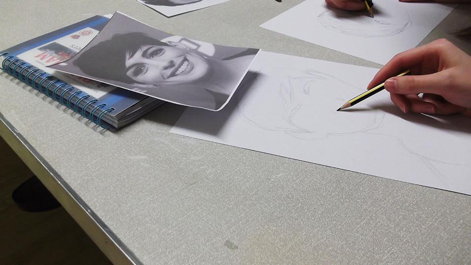 Caricature workshop sketches