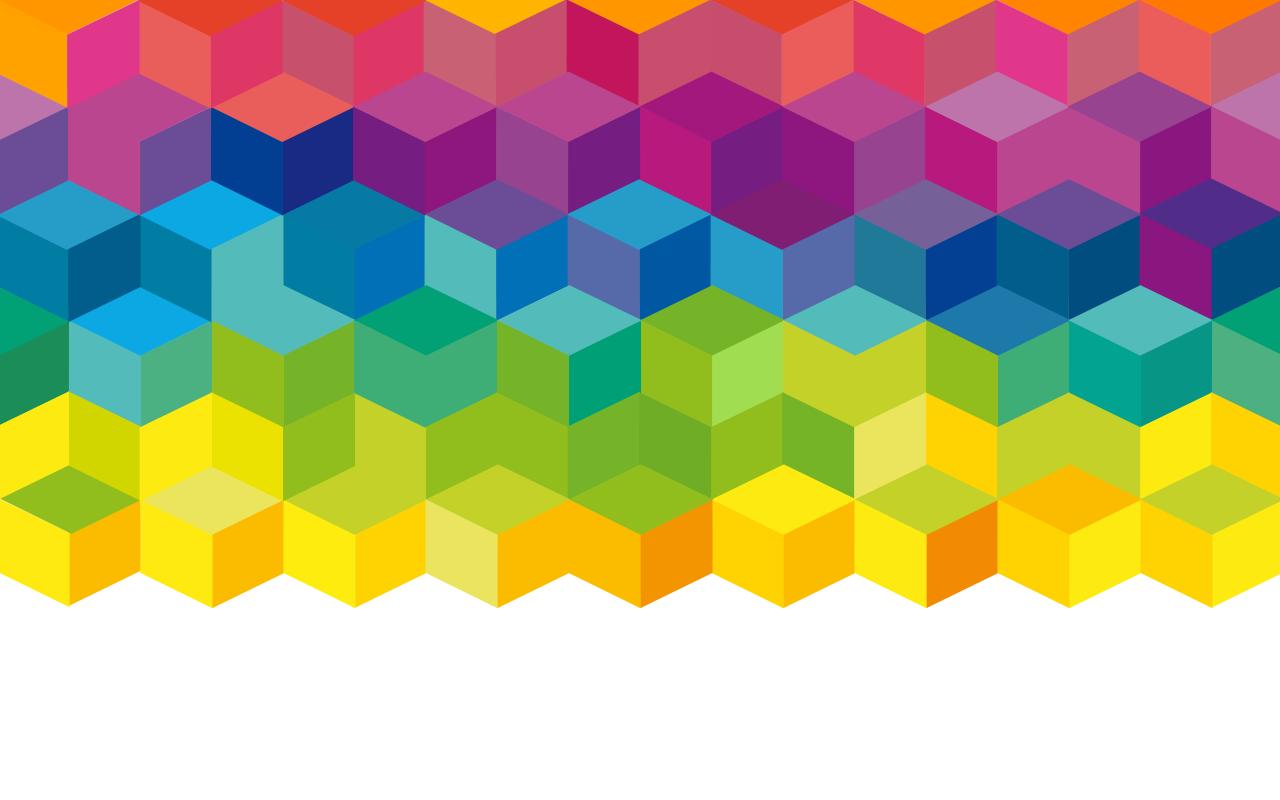 Cubos del arco iris