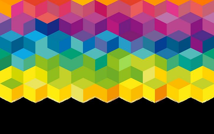 Cubi arcobaleno