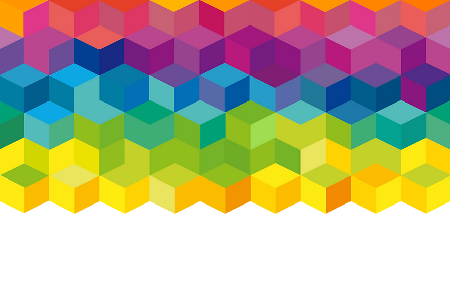 Cubos do arco-íris