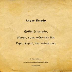 Never Empty (Haiku)