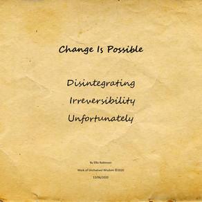 Change Is Possible - Haiku