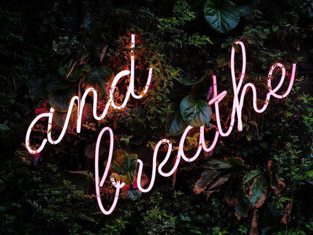 Life Saving, Breathing, Present and Mindfulness. Kicking mental Health's Butt.