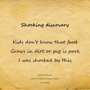 Shocking Discovery -Haiku