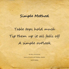 Simple Method - Haiku
