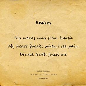 Reality - Haiku