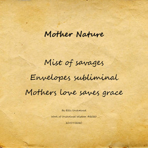 Mother Nature - Haiku