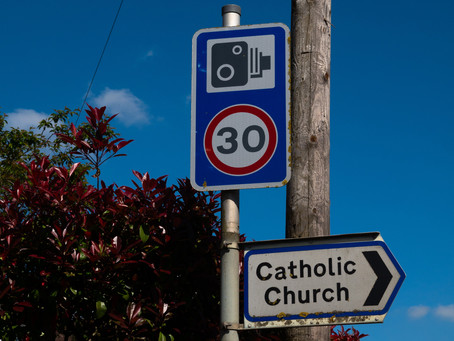 The speed camera... David (The People) and Goliath (The Council)