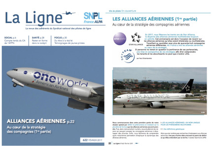 My article in La Ligne on airline alliances
