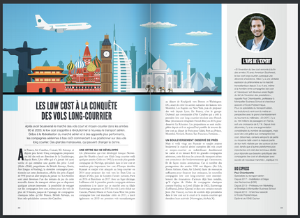 My interview in 360° about long-haul low-cost carriers