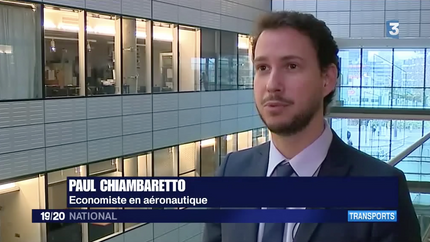 My interview on France 3 about the difficulties faced by the A380