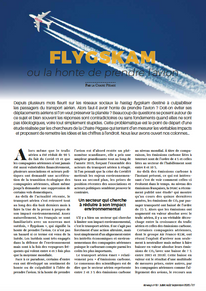 """Our article in """"Airways"""" summarizing the main conclusions the """"Chaire Pégase"""" re"""
