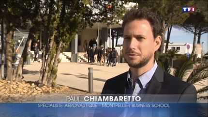 My interview on TF1 about the launch of the A321LR