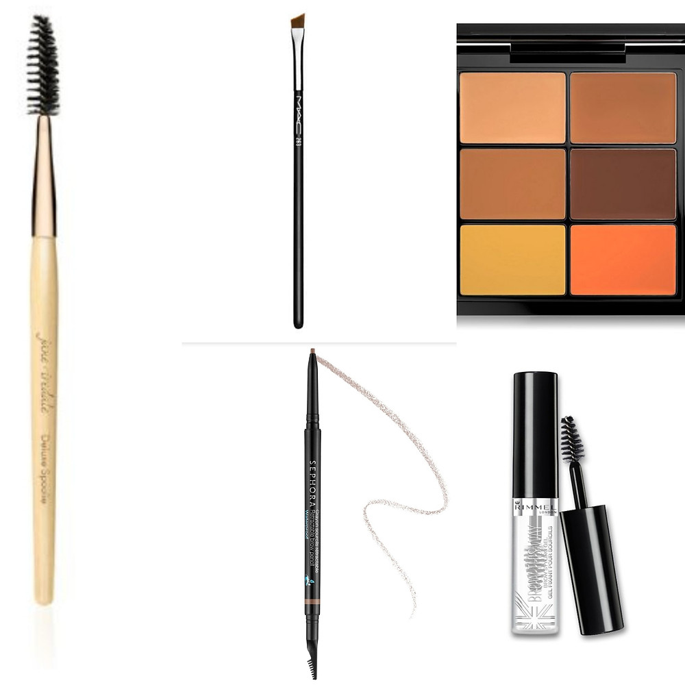 Products Needed for Brows