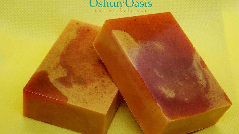 Oshun Oasis Tumeric Soap (2 bars)