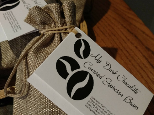 Gourmet Dark Chocolate Covered Espresso Beans