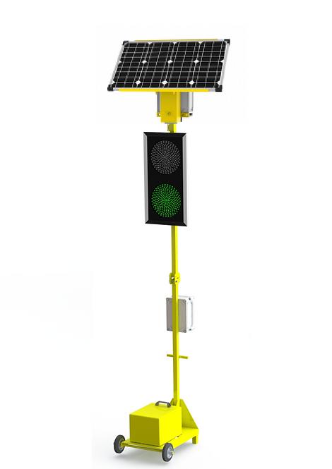 Автономный односторонний светофор МС-300 (Т.1.2) (300 мм)