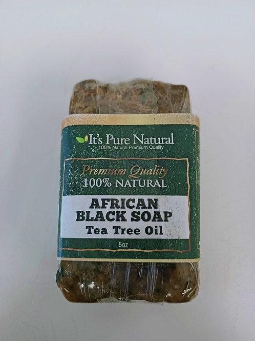 AFRICAN BLACK SOAP (TEA TREE OIL)