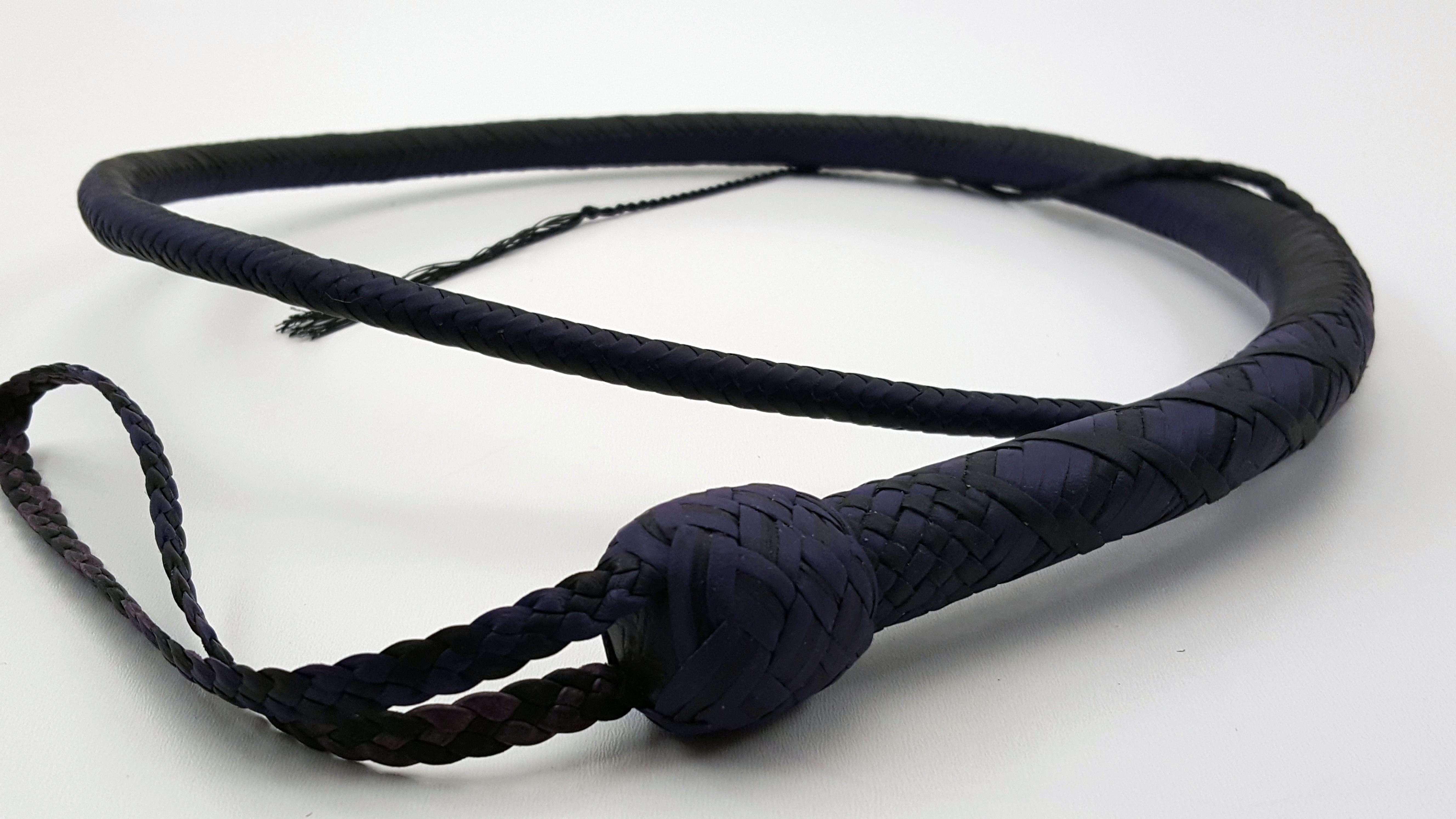 Purple 24 Plait Signal Whip