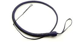 Black & Purple 24 Plait Signal Whip