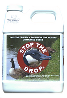 Geese Repellent, Stop The Drop