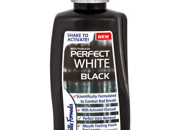 Perfect White Black Mouthwash