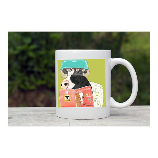 Miss Peaches dryer mug