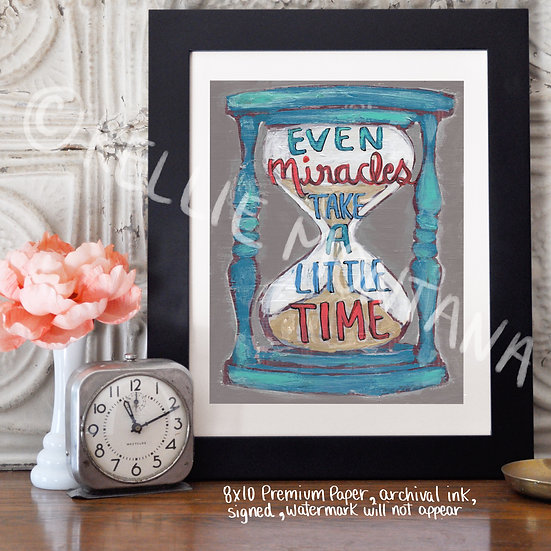 Even Miracles Take Time