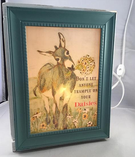 Donkey Light Box/Night Light