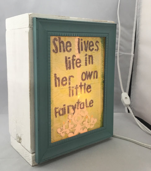 She lives in her own Fairtytale