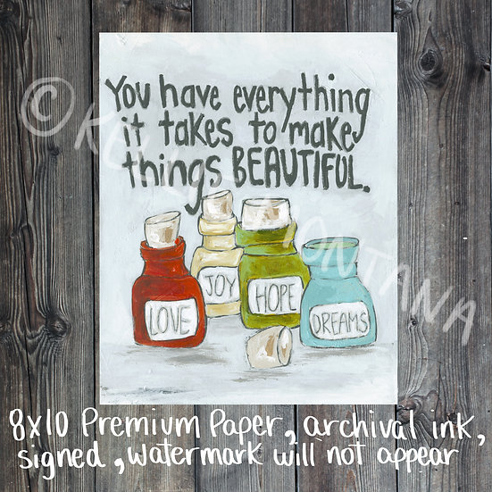 Make things Beautiful