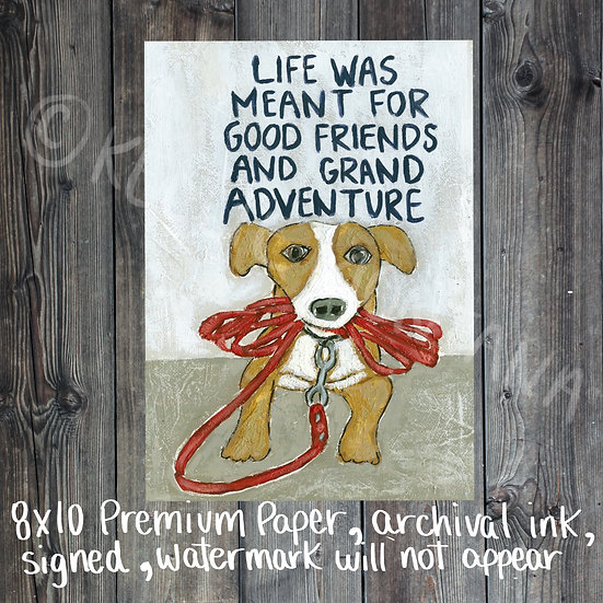 Life is Meant for Good Friends