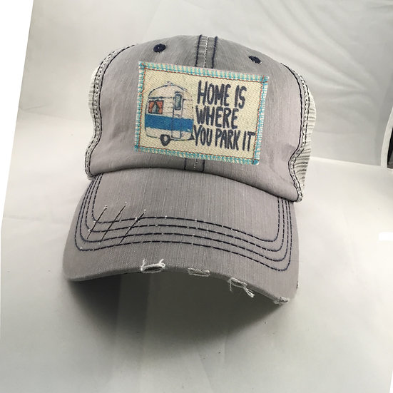 Home is Where you Park it Ballcap