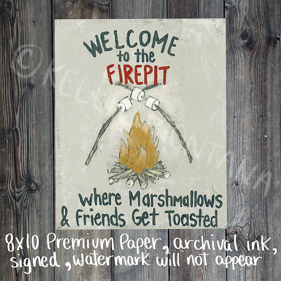 Welcom to the Firepit