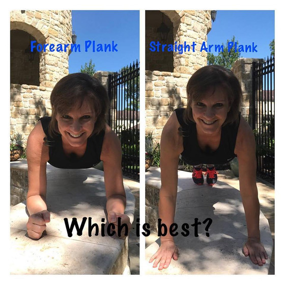 Forearm Plank vs. High Plank