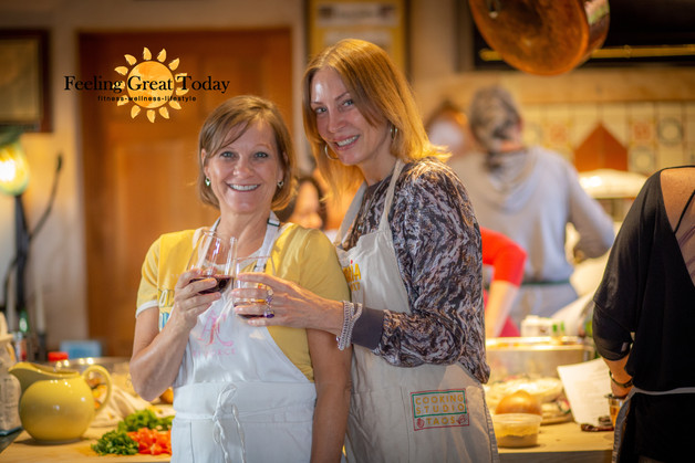 Cheers! Healthy cooking with friends