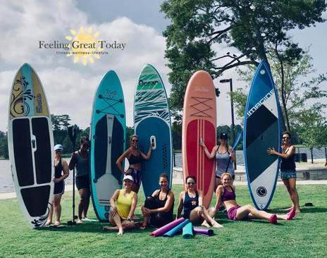 Yoga and Paddleboard Party!