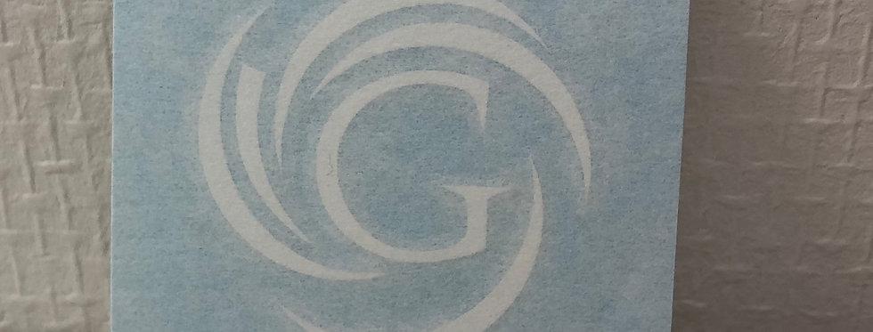 Gurislamar LOGO Sticker (small)