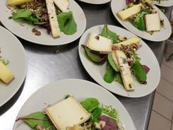 assiette de trois fromage