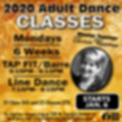 2020 Terrie Reames Adult Classes Instagr