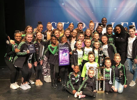 MOVE Rocked it at 2019 Star Talent Competition in NC