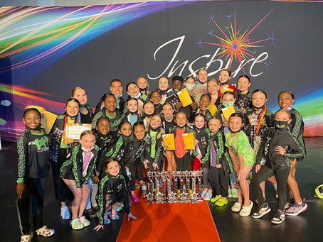 Inspire National Dance Competition April 23-25, 2021